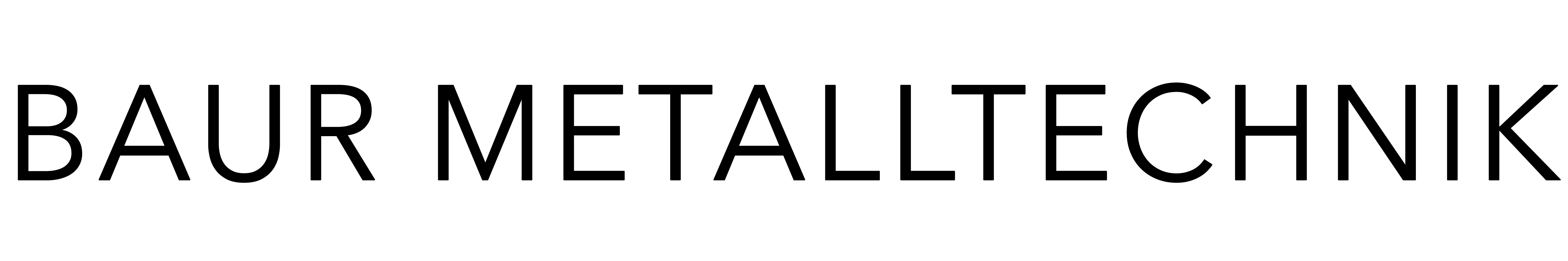 Baur Metalltechnik